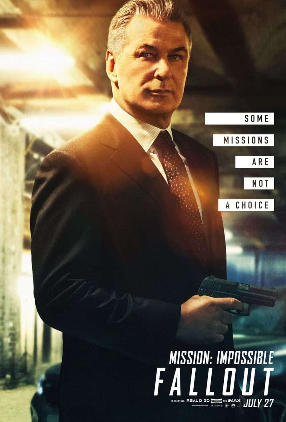 Mission Impossible Fallout Character Movie Poster Alec Baldwin