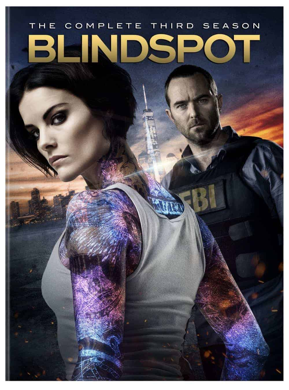 Blindspot Season 3 DVD Box Cover Artwork