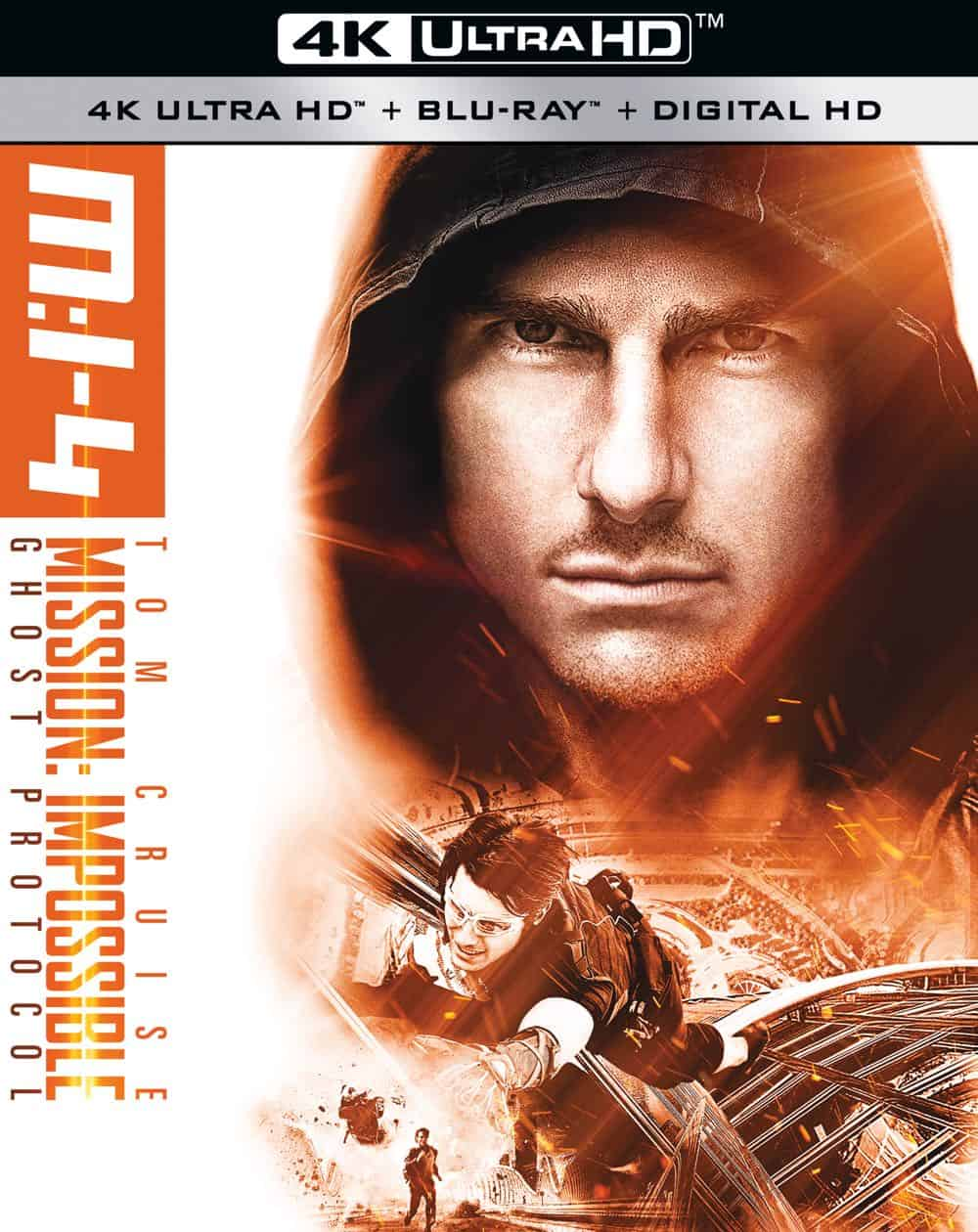 Mission Impossible 4 Ghost Protocol 4K