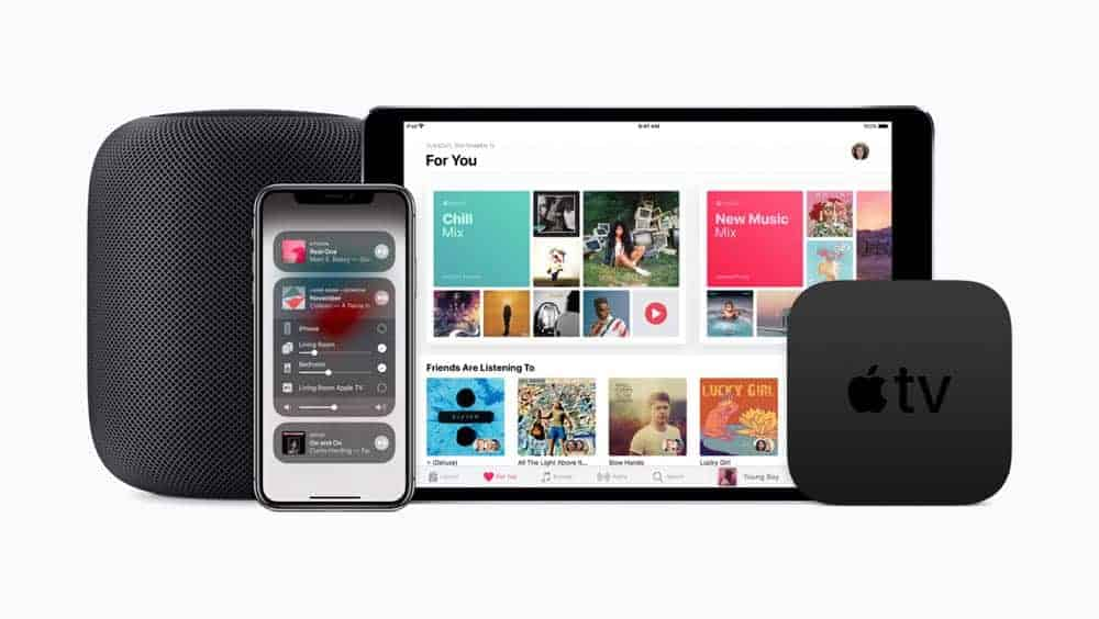 Apple iOS 11.4 supports new HomePod music control 05292018