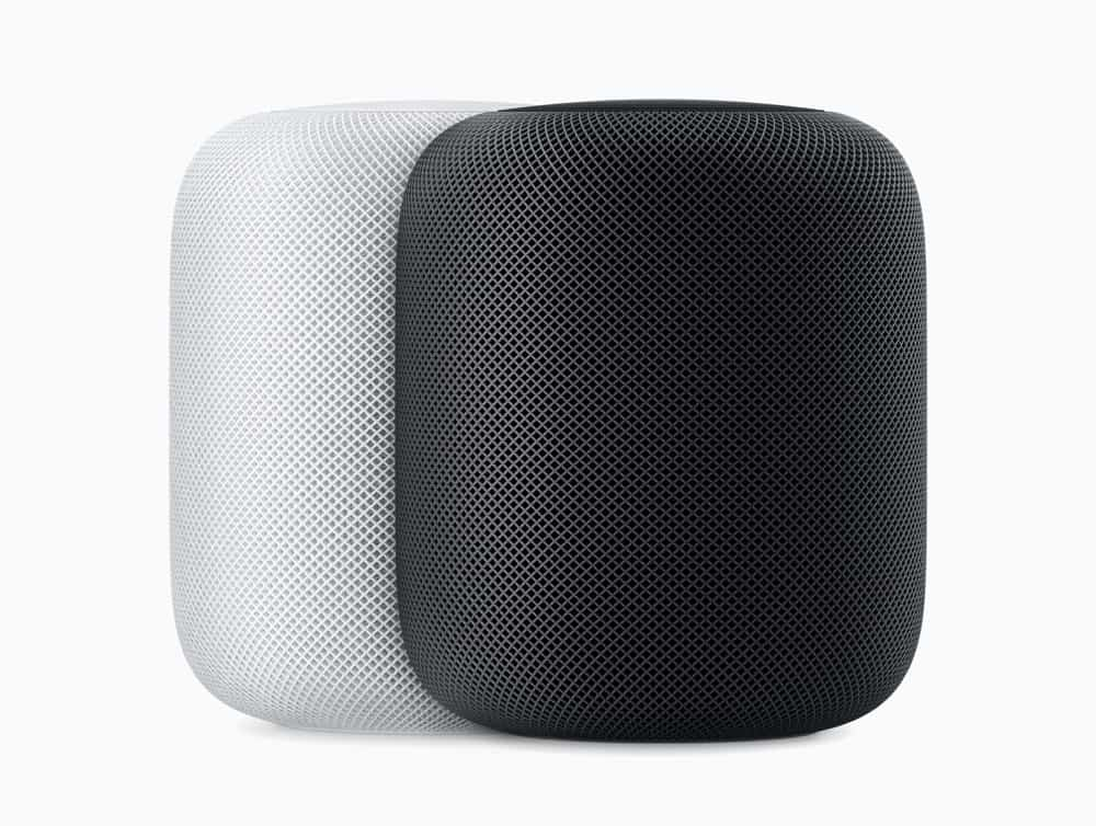 Apple Homepod wht blk 05292018
