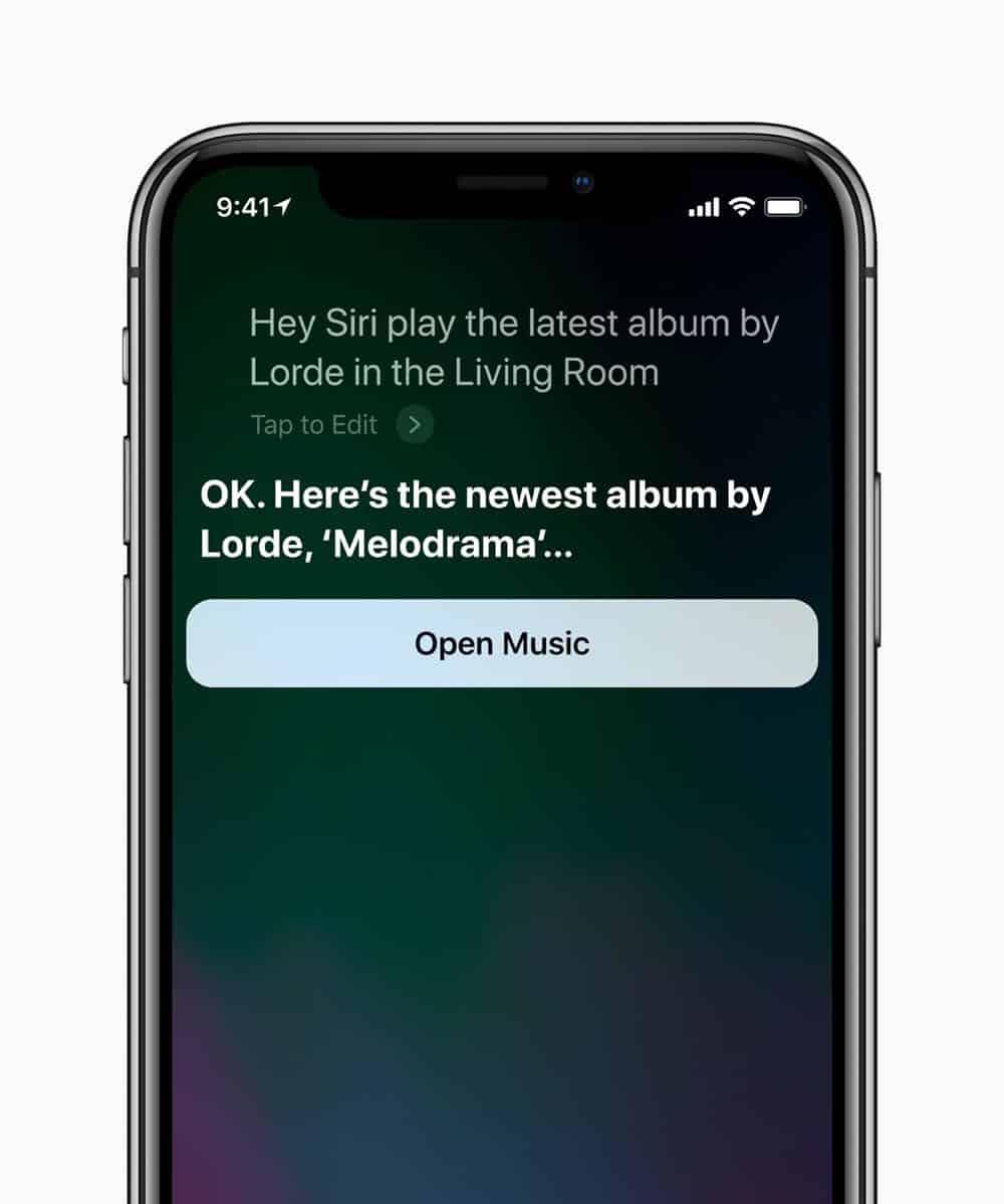 iPhone X Siri HomePod screen 05292018