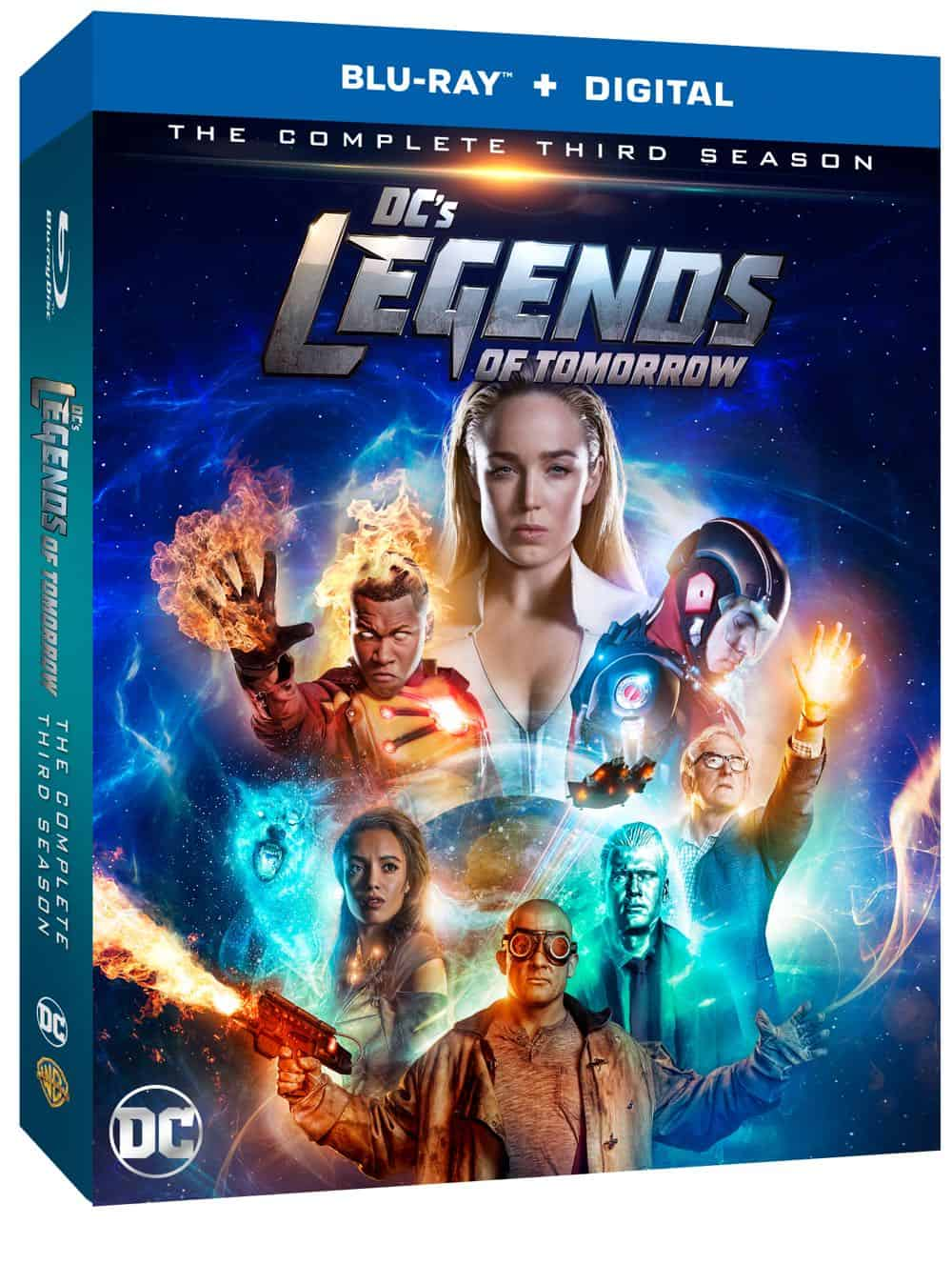 DC's Legends Of Tomorrow Season 3 Blu-ray