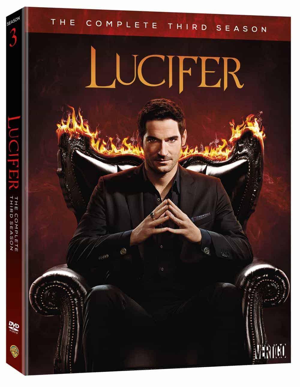 Lucifer Season 3 DVD S3