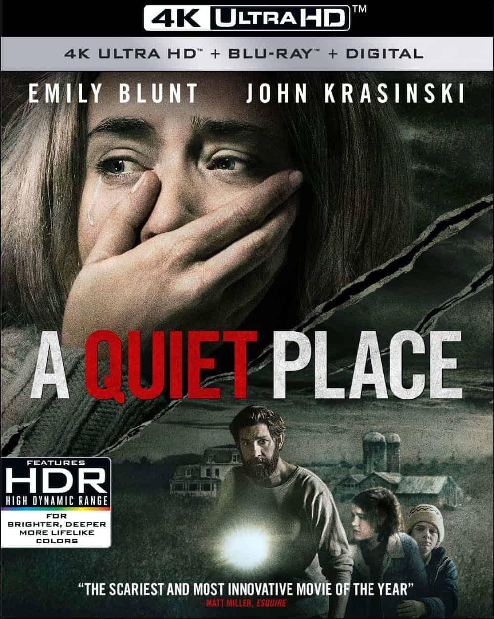 A Quiet Place 4K Ultra HD + Blu-ray + Digital