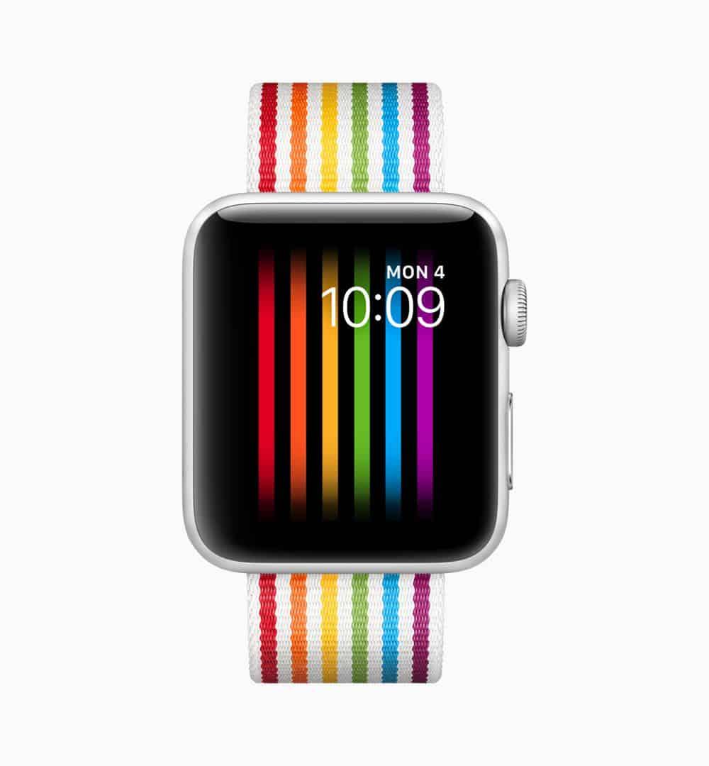 Apple watchOS 5 Pride Face screen 06042018
