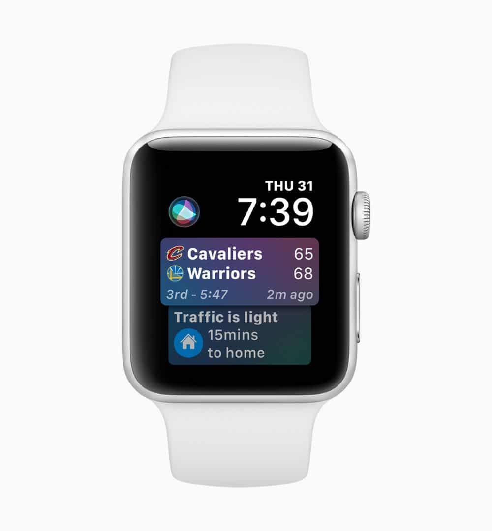 Apple watchOS 5 Siri Face 02 screen 06042018