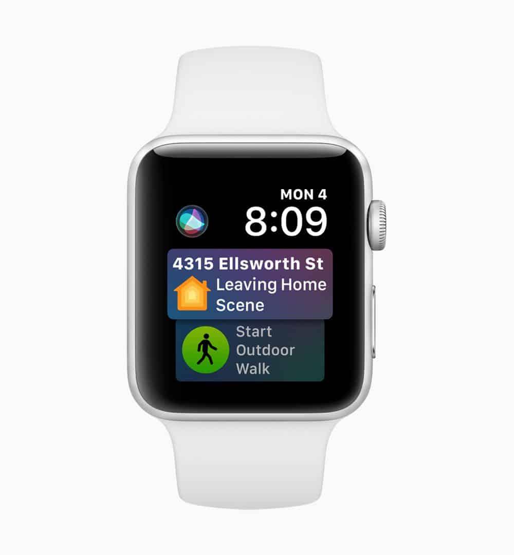 Apple watchOS 5 Siri Face screen 06042018