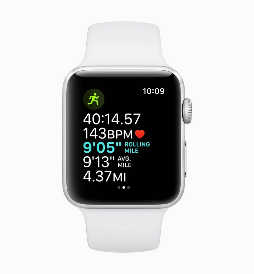 Apple watchOS 5 Running Features screen 06042018
