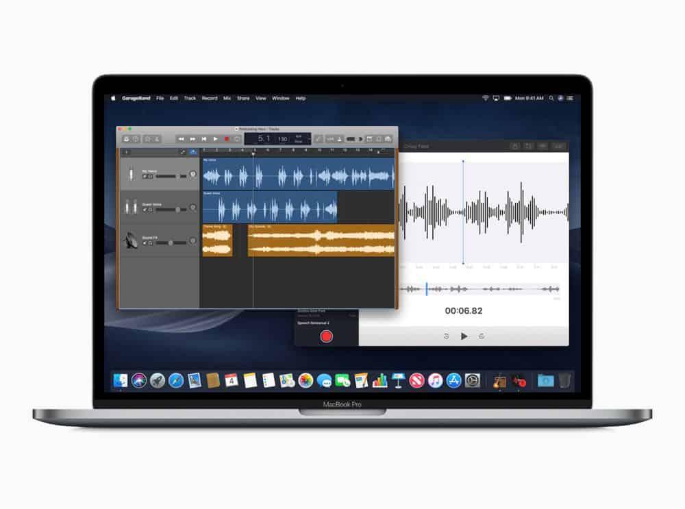 macOS preview Voice Memo screen 06042018