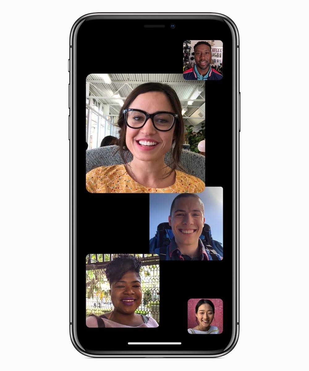 iOS12 Face Time multi 06042018