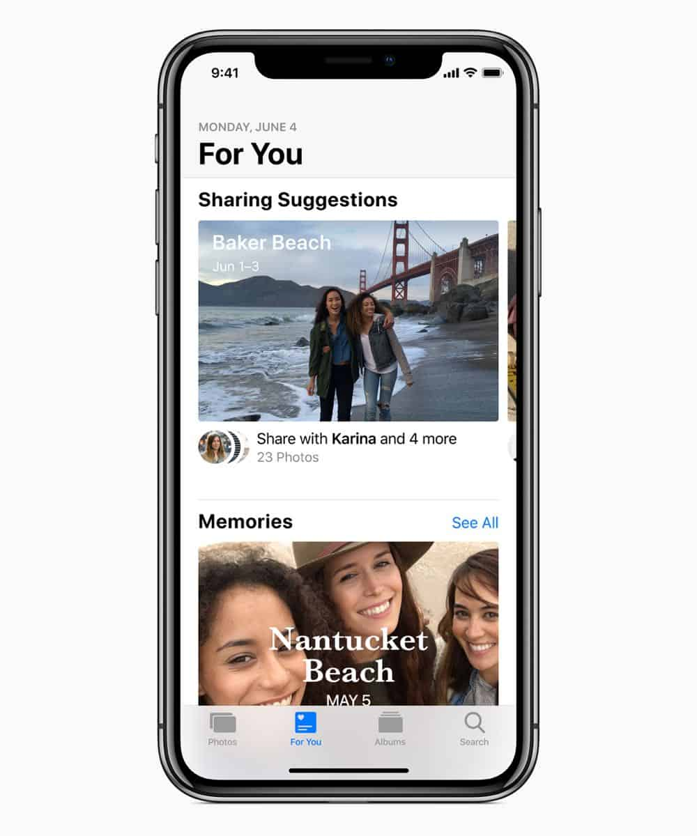 iOS12 Suggestions ForYou 06042018