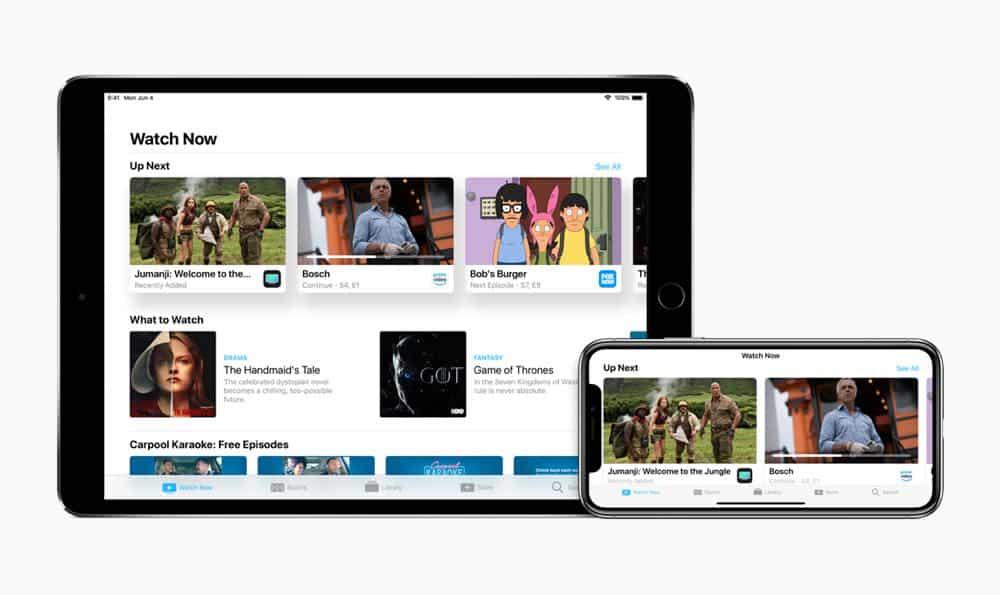 Apple TV 4K iPhone X iPad 10 screen 06042018