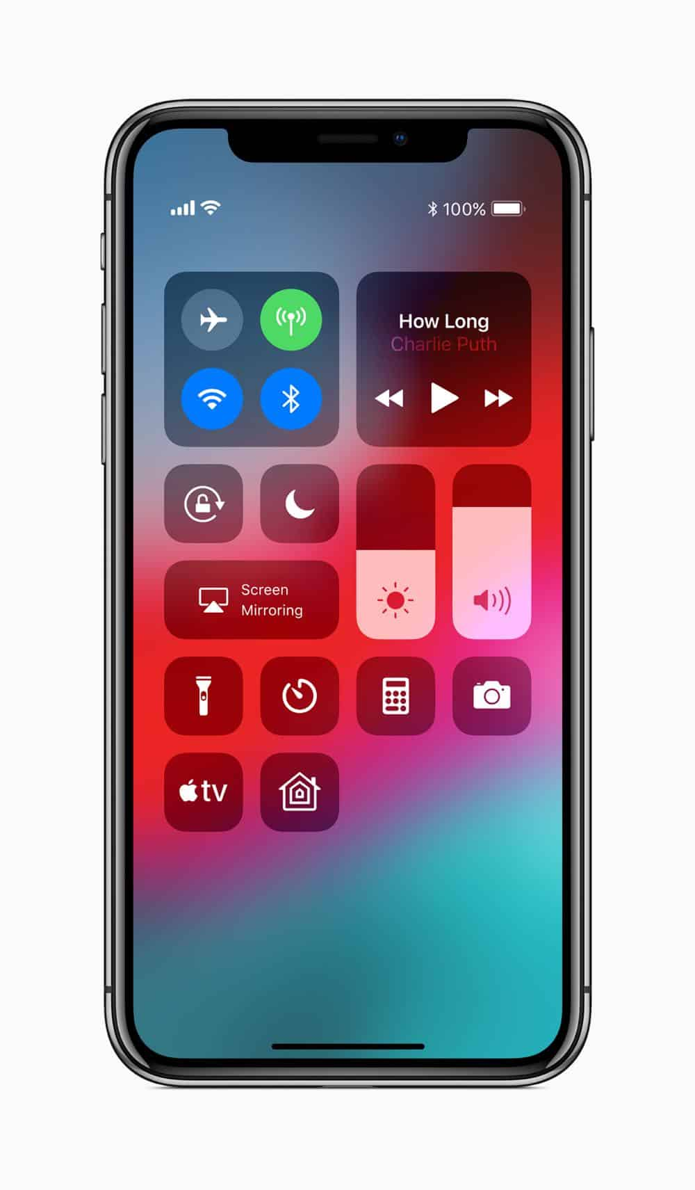 Apple TV 4K iPhone X screen 06042018