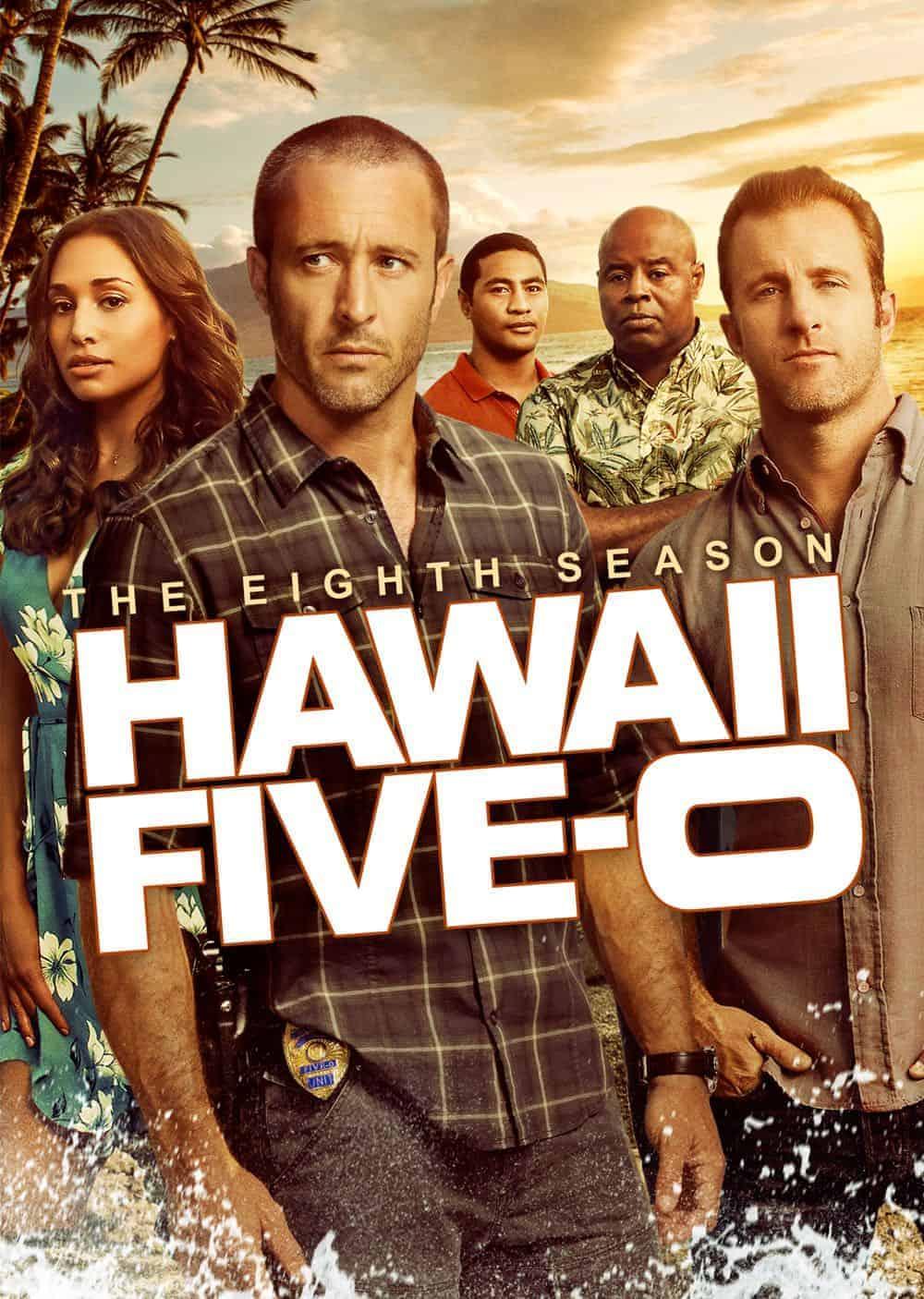 Hawaii Five 0 Season 8 DVD Cover 2
