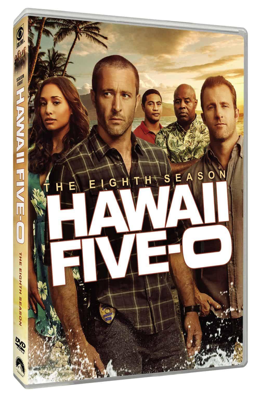 Hawaii Five 0 Season 8 DVD Cover 3