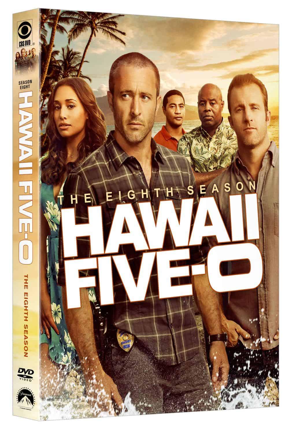 Hawaii Five 0 Season 8 DVD Cover 1