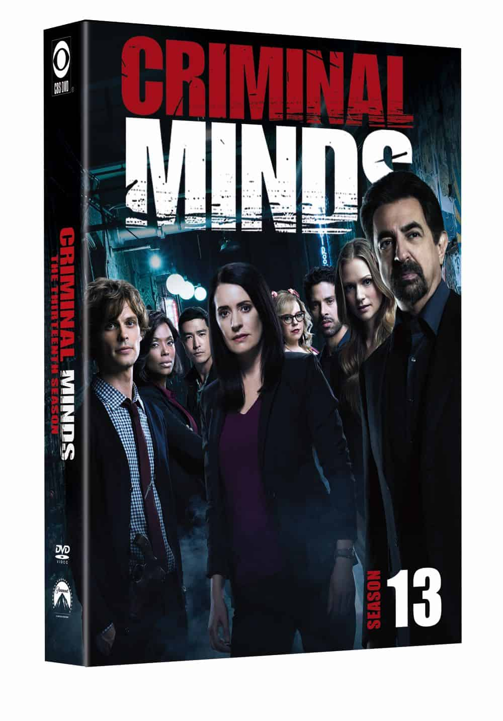 Criminal Minds Season 13 DVD Cover 1