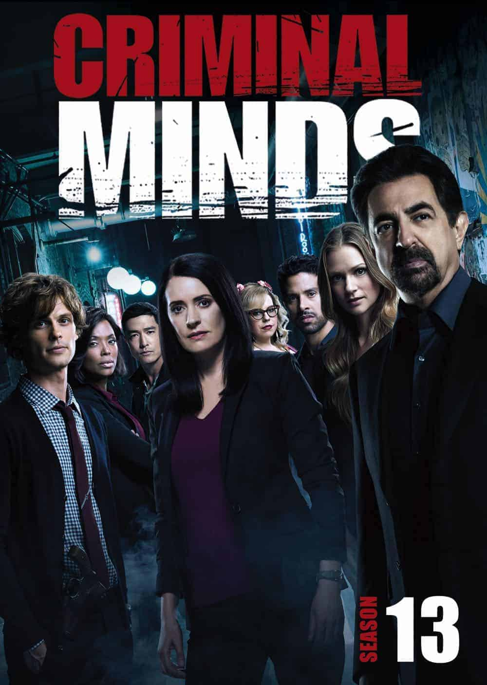 CRIMINAL MINDS Season 13 DVD