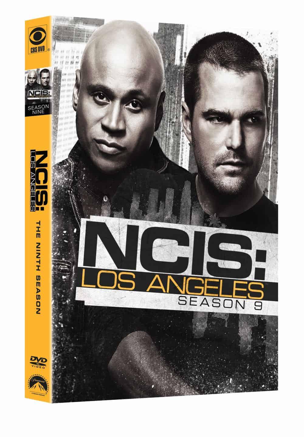 NCIS LOS ANGELES Season 9 DVD Cover 1