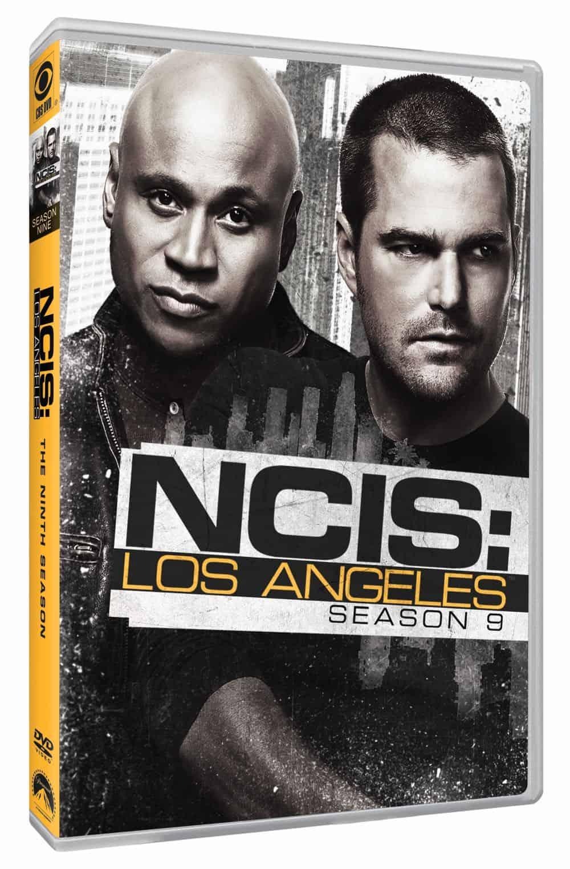NCIS LOS ANGELES Season 9 DVD Cover 2