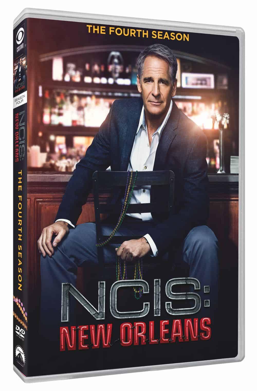 NCIS NEW ORLEANS Season 4 DVD Cover 2