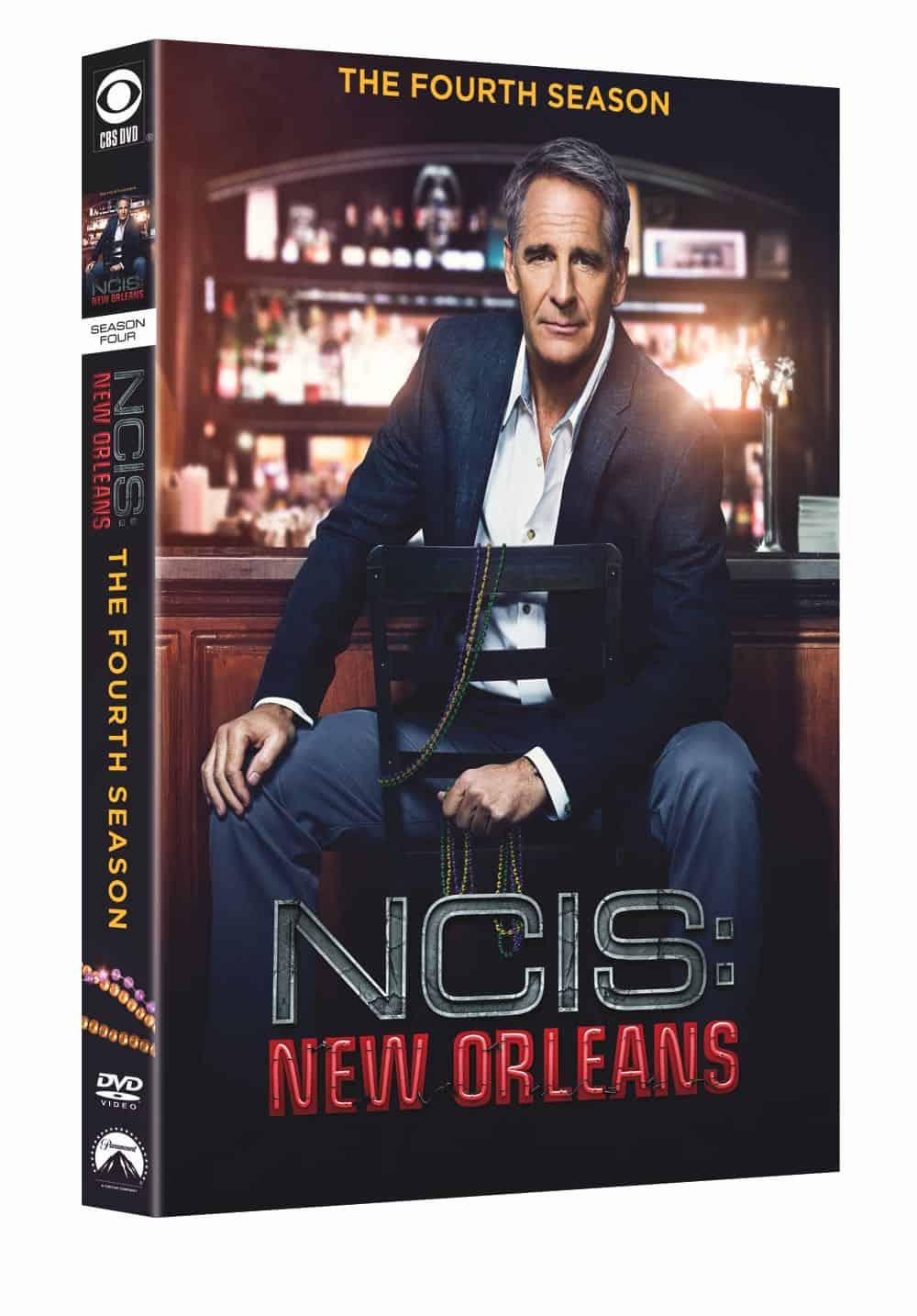 NCIS NEW ORLEANS Season 4 DVD Cover 3