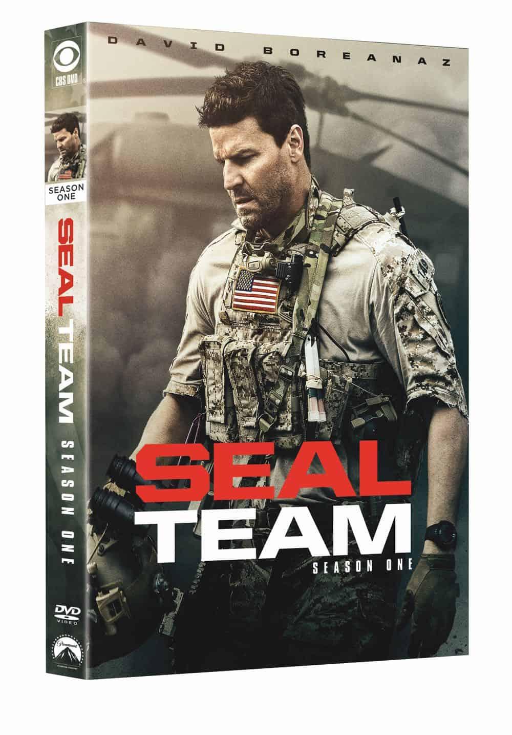 Seal Team Season 1 DVD Cover 2