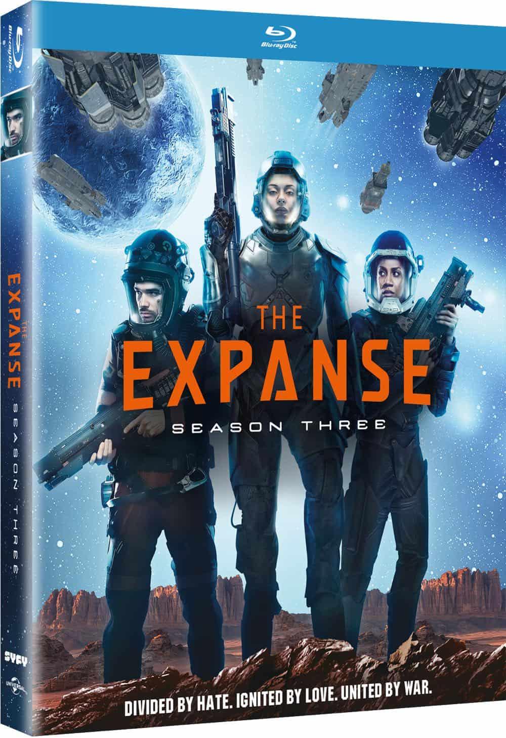 The Expanse Season 3 Bluray Cover 3