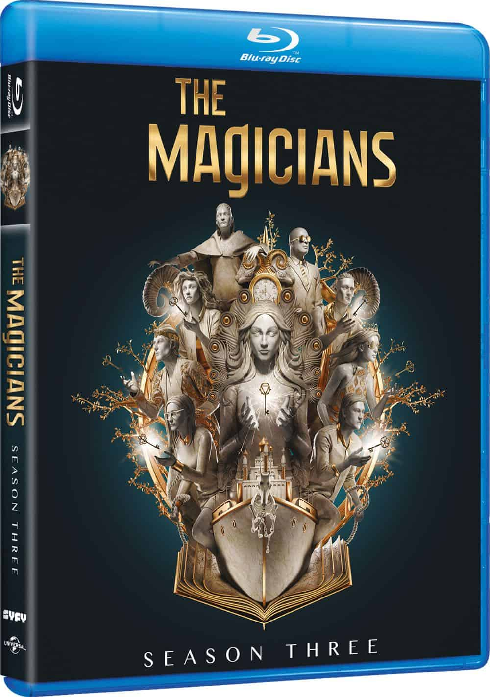 The Magicians Season 3 Bluray Cover 2