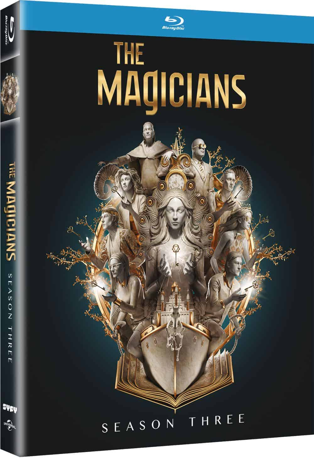The Magicians Season 3 Bluray Cover 4