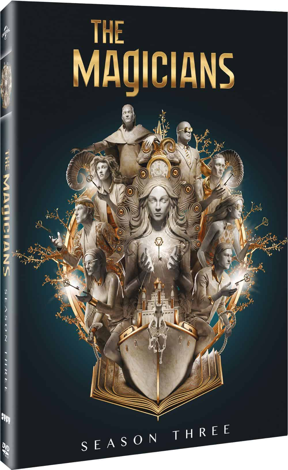 The Magicians Season 3 DVD 3D Cover