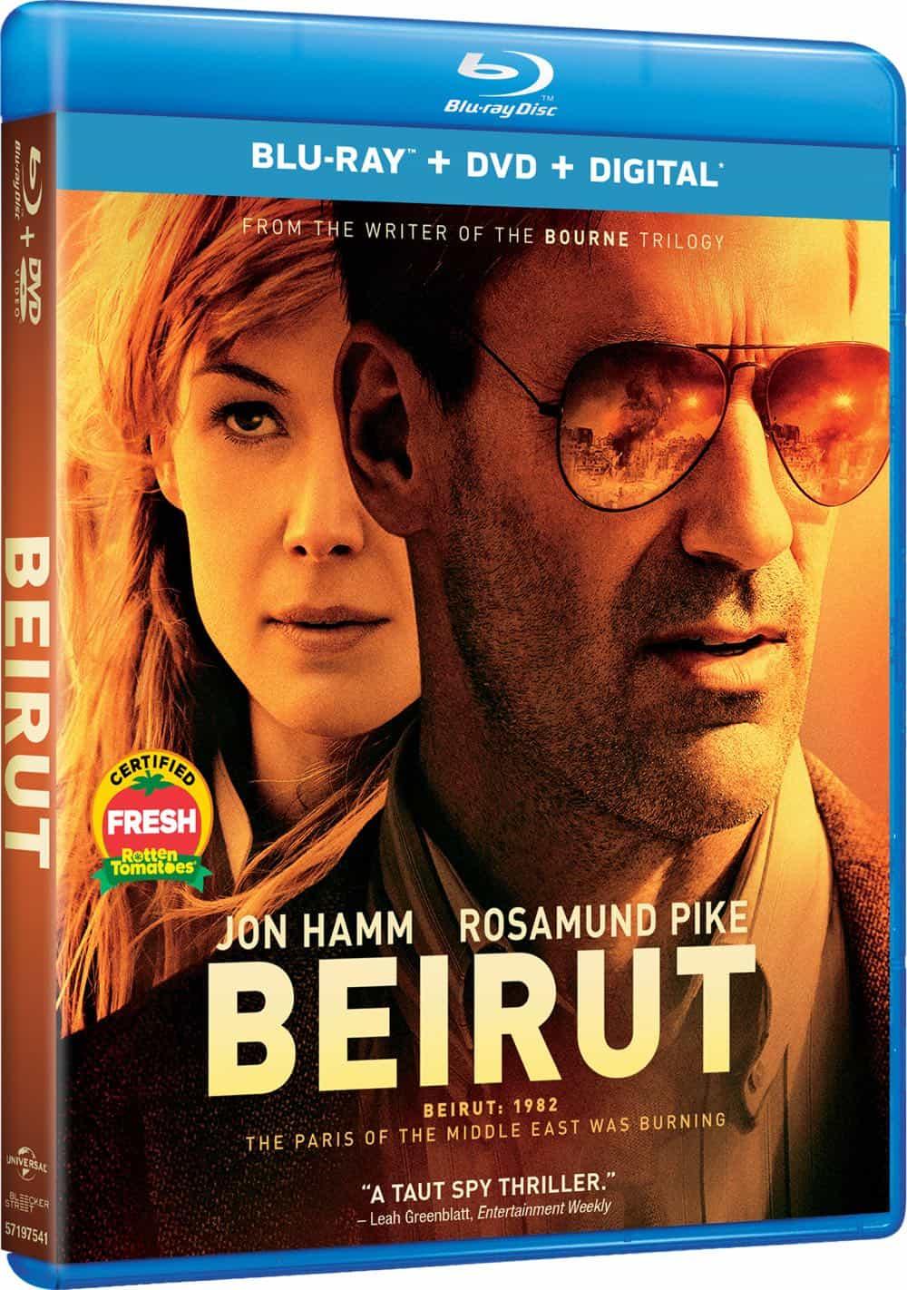 Beirut Bluray DVD Digital Cover 2