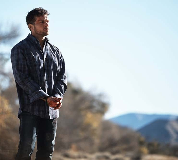 "SHOOTER -- ""Backroads"" Episode 301 -- Pictured: Ryan Phillippe as Bob Lee Swagger -- (Photo by: Adam Rose/USA Network)"