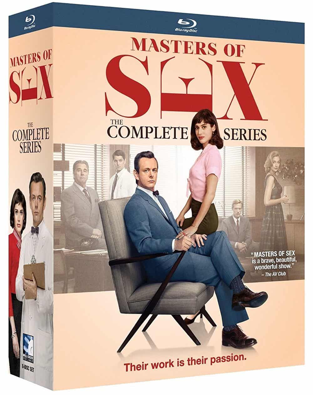 Masters Of Sex The Complete Series Bluray