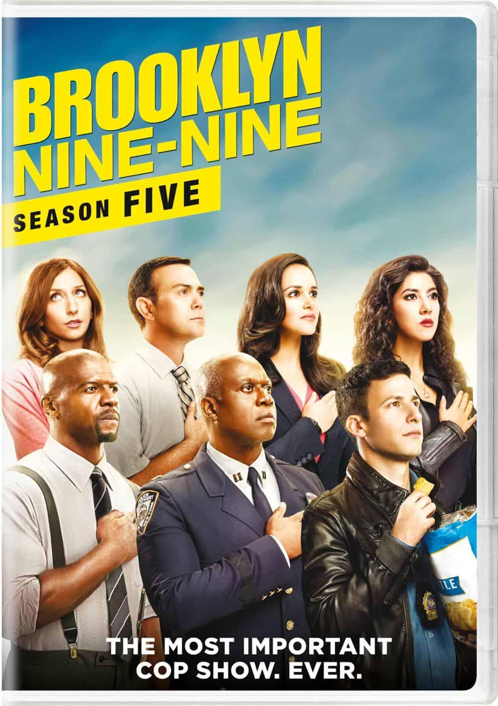 Brooklyn Nine Nine Season 5 DVD 1