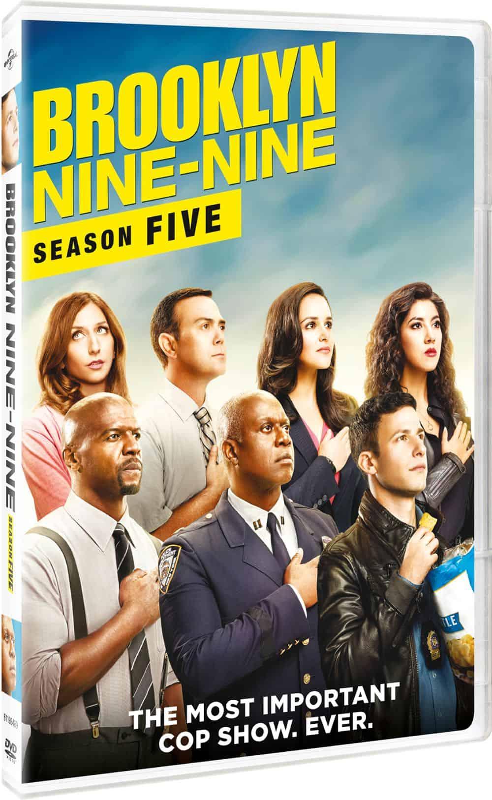 Brooklyn Nine Nine Season 5 DVD 2