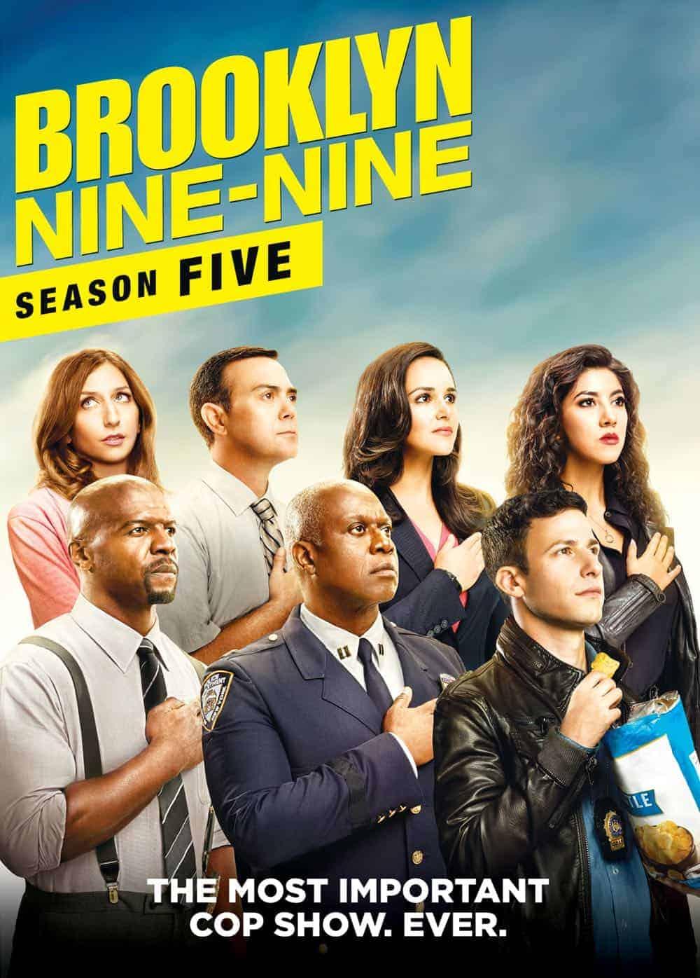 Brooklyn Nine Nine Season 5 DVD 3
