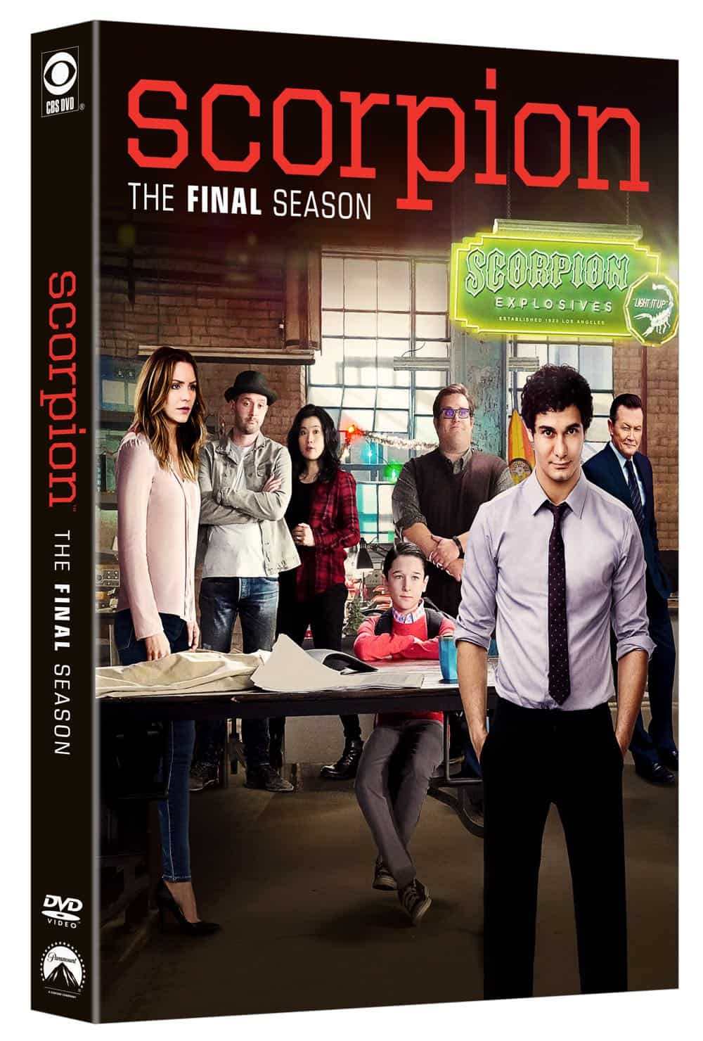 Scorpion Season 4 DVD 1