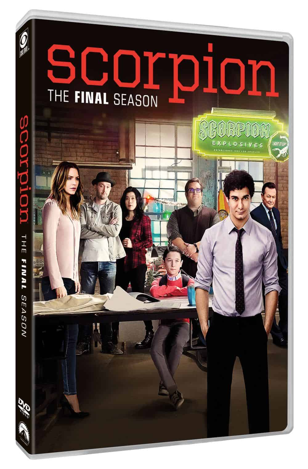 Scorpion Season 4 DVD 2