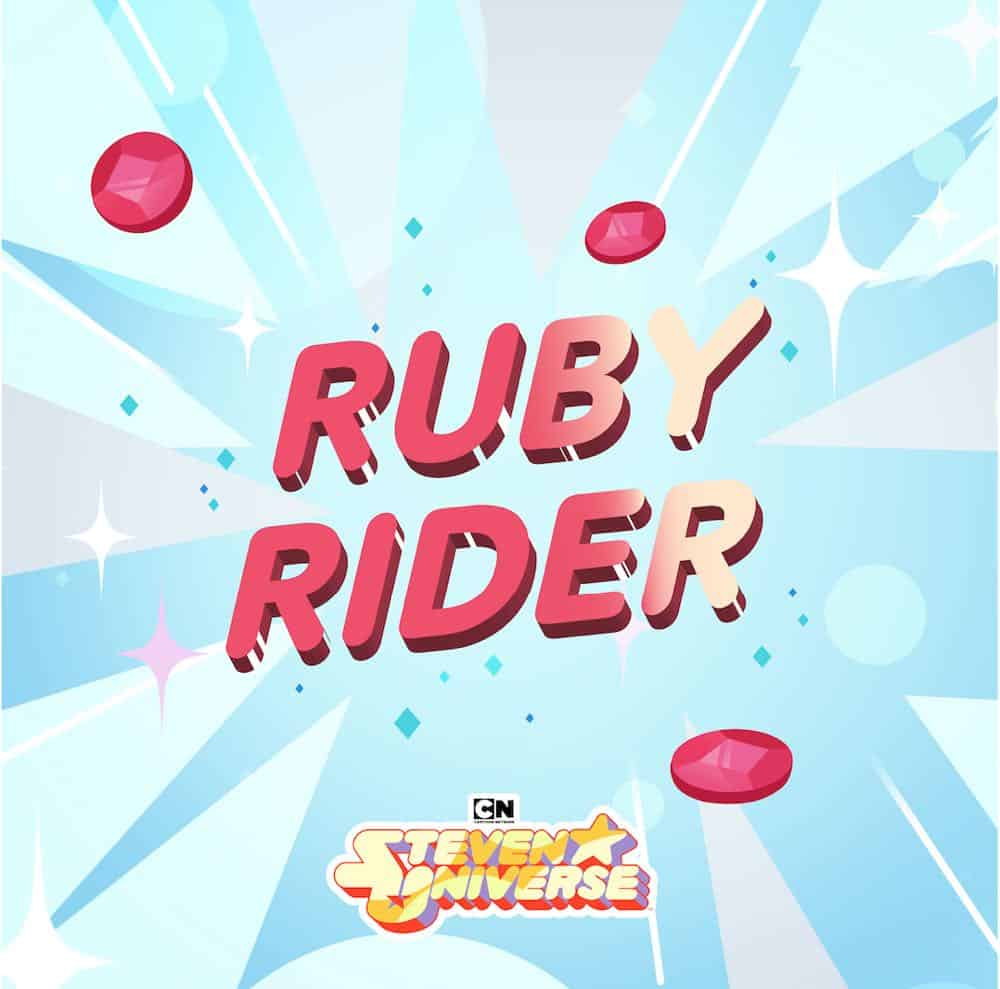 Ruby Rider album cover