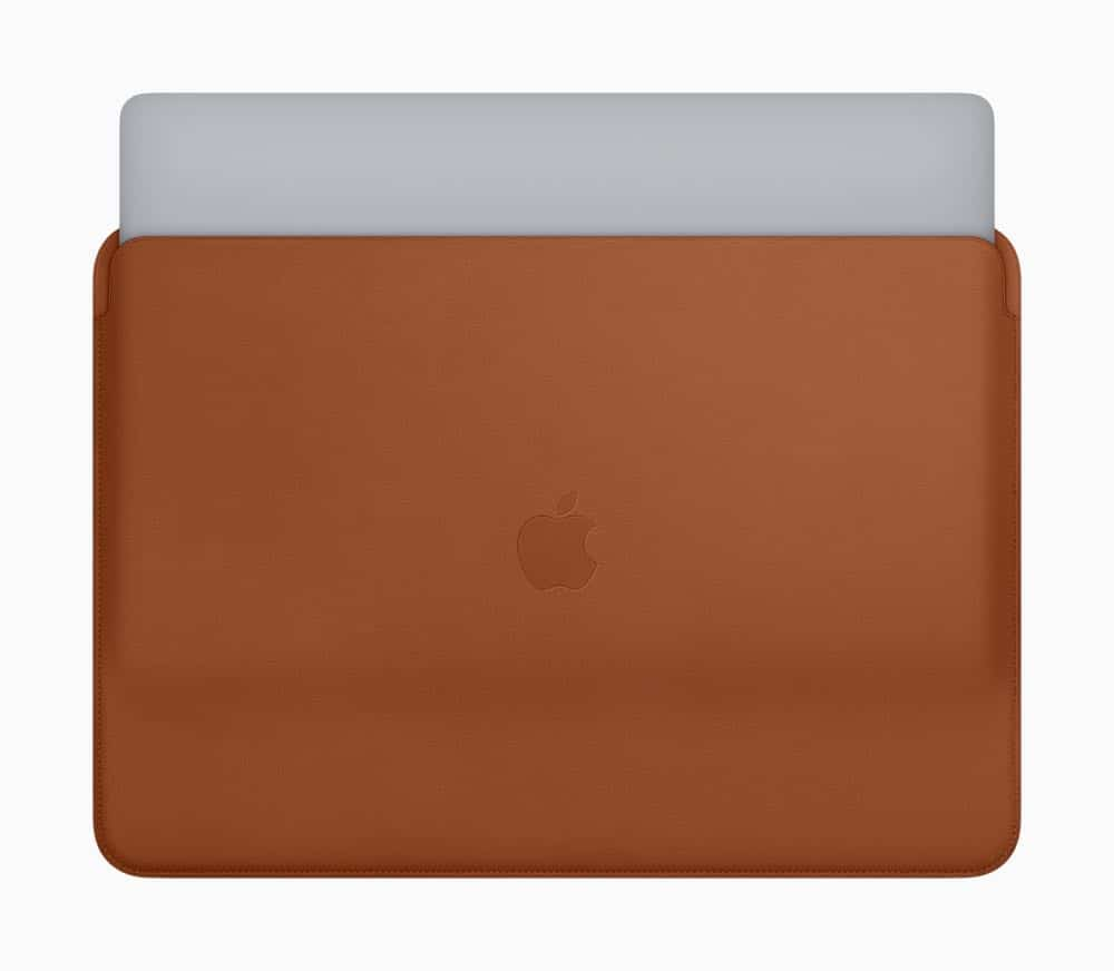 New Apple MacBook Pro Leather Sleeves 07122018