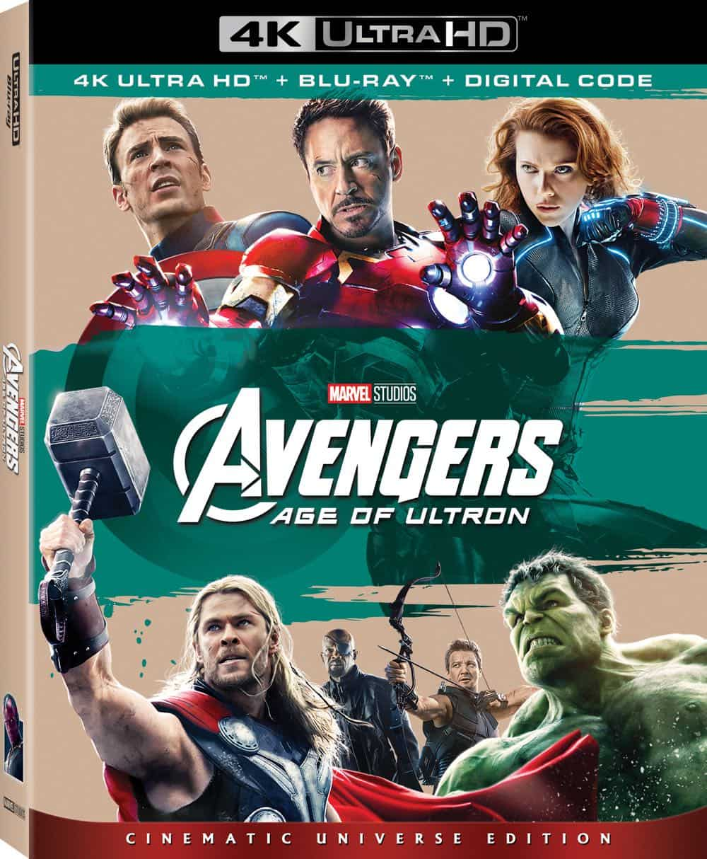 Avengers Age of Ultron 4K UHD Box Art