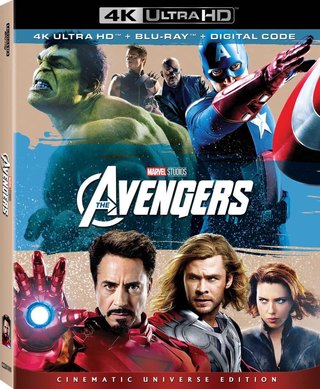 The Avengers 4K UHD Box Art