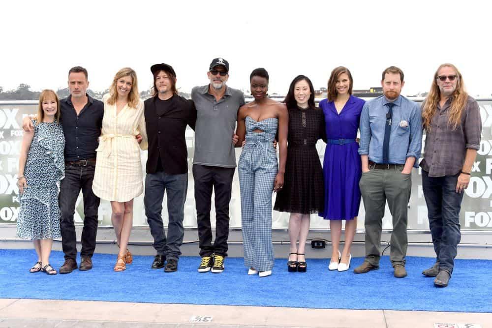 The Walking Dead Cast Comic Con 2018 02