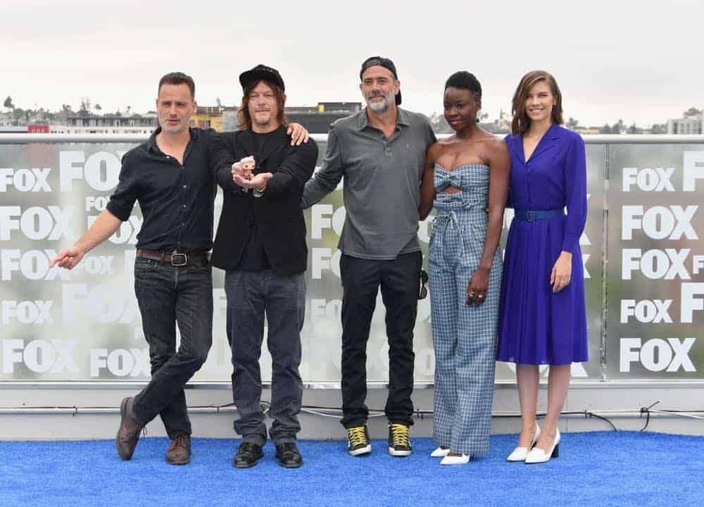 The Walking Dead Cast Comic Con 2018 13