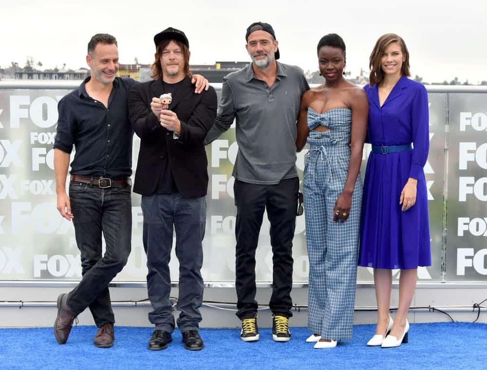 The Walking Dead Cast Comic Con 2018 01