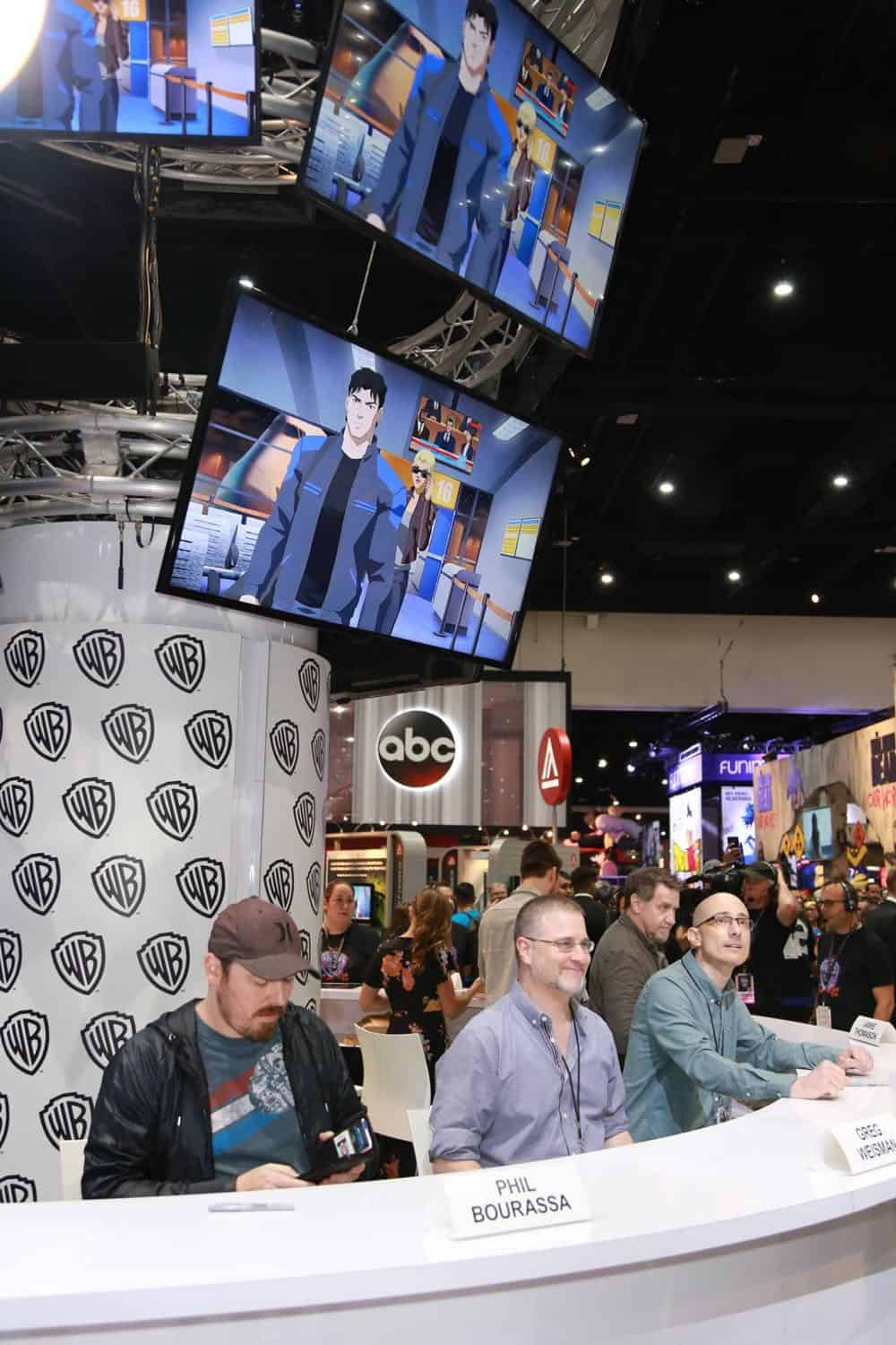 Young Justice Outsiders Comic Con 2018 07