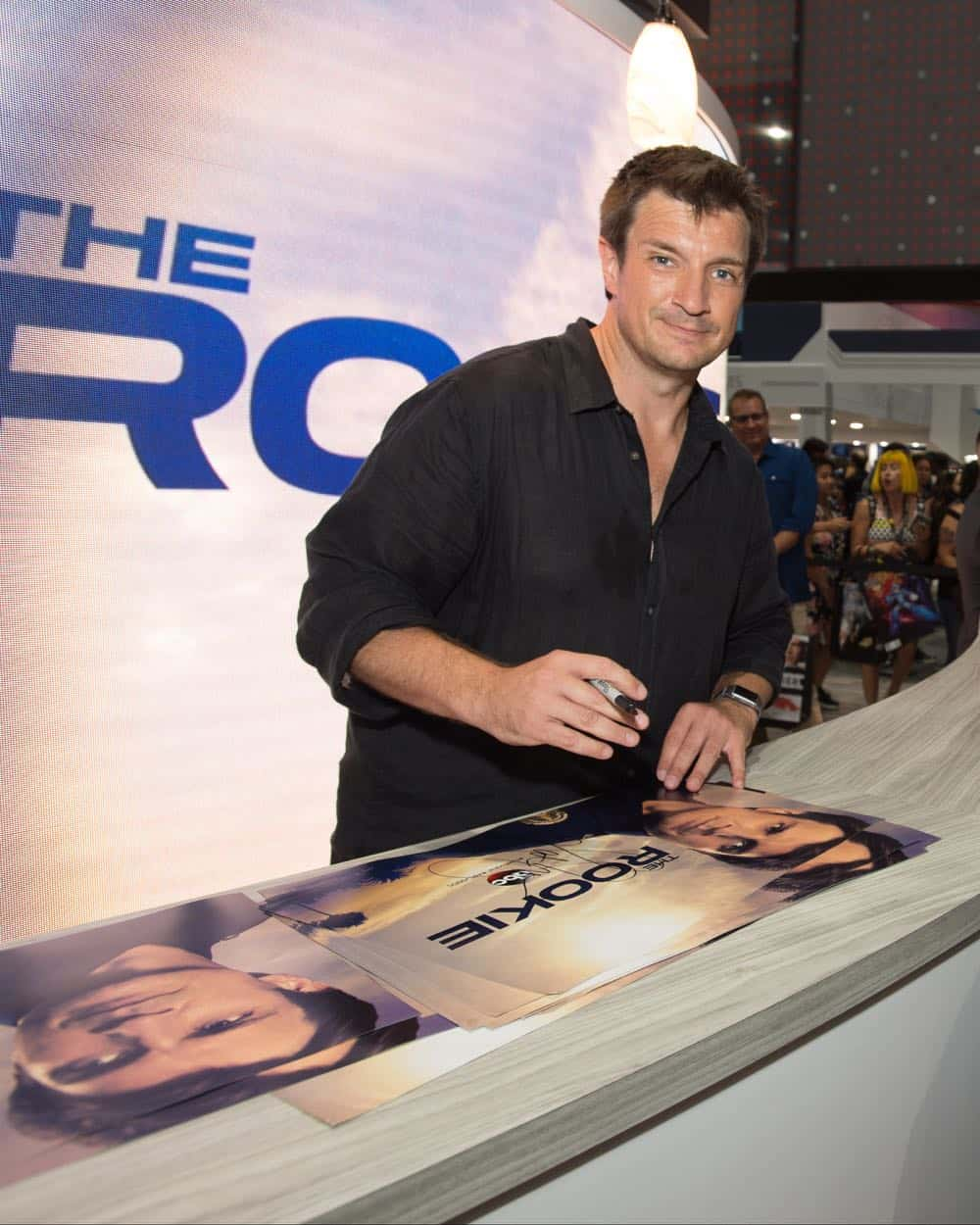 Nathan Fillion THE ROOKIE Comic Con 2018 15
