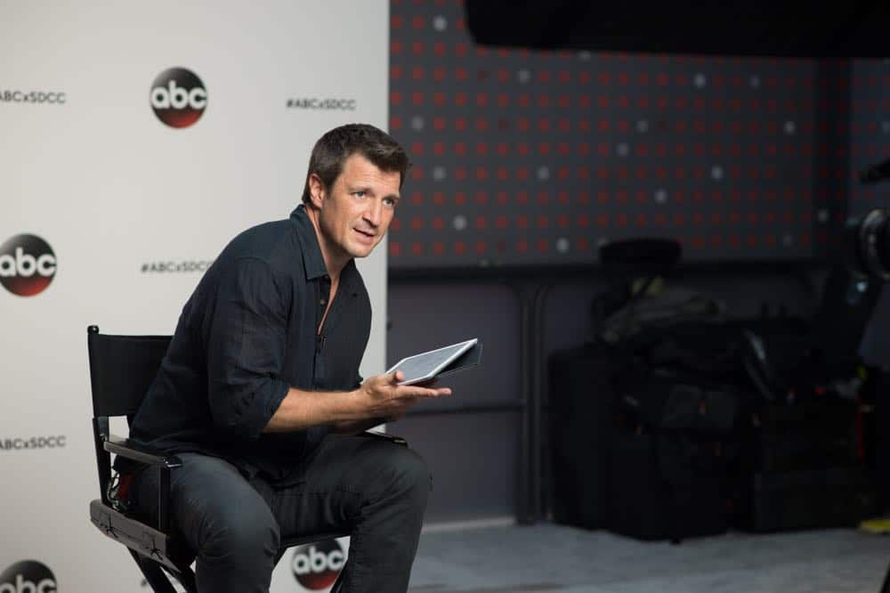 Nathan Fillion THE ROOKIE Comic Con 2018 05